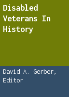 Disabled veterans in history