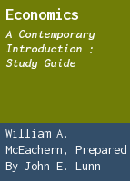 Economics: a contemporary introduction : study guide