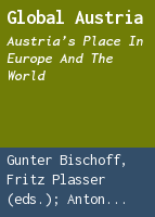 Global Austria: Austria's place in Europe and the world