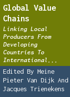 Global value chains: linking local producers from developing countries to international markets