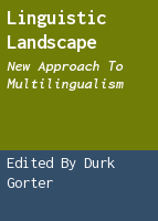 Linguistic landscape: new approach to multilingualism