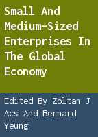 Small and Medium-Sized Enterprises in the Global Economy