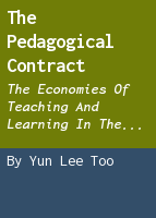 The Pedagogical Contract: The Economies of Teaching and Learning in the Ancient World