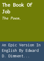 The book of Job: the poem.
