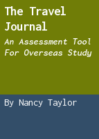 The travel journal: an assessment tool for overseas study